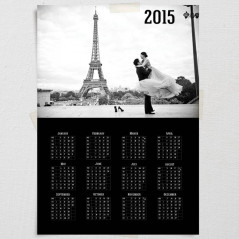 Календарь плакат «Воспоминания» вертикальный
