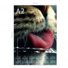 Календарь «Кумир» А2 плакат